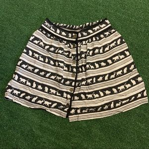 Cooperative Urban Outfitters Striped Cat Skirt